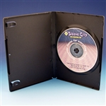 Budget Single DVD Case with Full Sleeve (10 pack)