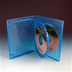 triple blu-ray dvd cases