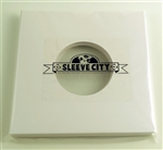 7 inch die cut white jacket for 45s