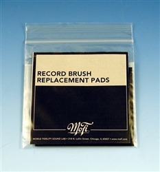 Mobile Fidelity Record Brush Replacement Pads
