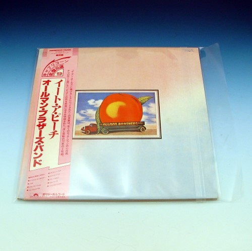 Resealable 3 Mil Outer Lp Sleeves Pack Of 50