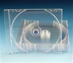 Clear Tray for Single Jewel Cases (10 Pack)