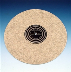 Anti-Static Turntable Mat with Strobe Pattern (50 Hz)