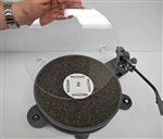 Turntable platter Polycover