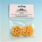 45 rpm Spindle Inserts (10 Pack)