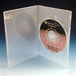 Ultra Thin Single Clear DVD Case