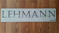 Personalized Tile Sign