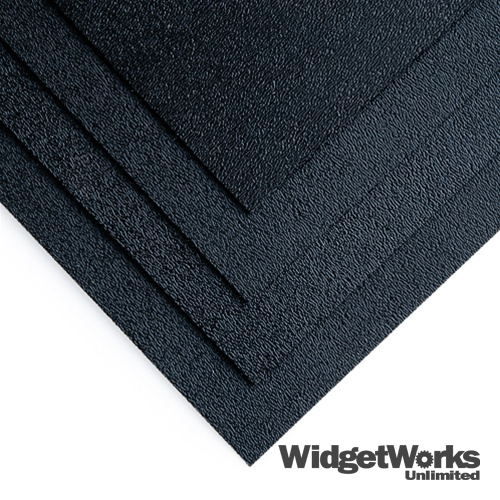 3 32 Quot Black Abs 24x24 Thermoform Plastic Sheets For Vacuum