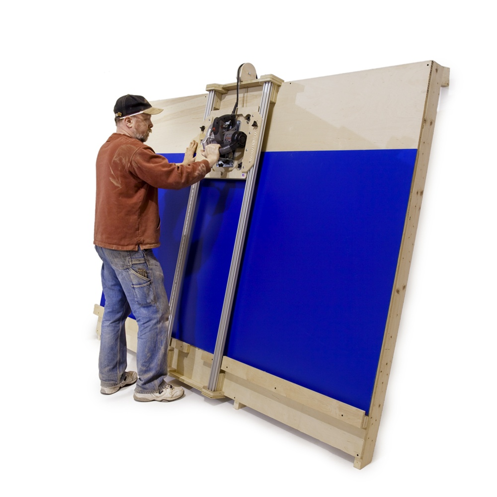 Wall Mounted Track Saw : Diy panel saw kit build your own accurate to
