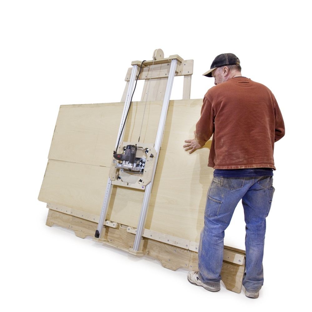 Saw To Cut Wall : Deluxe panel saw kit wall mount version build your own