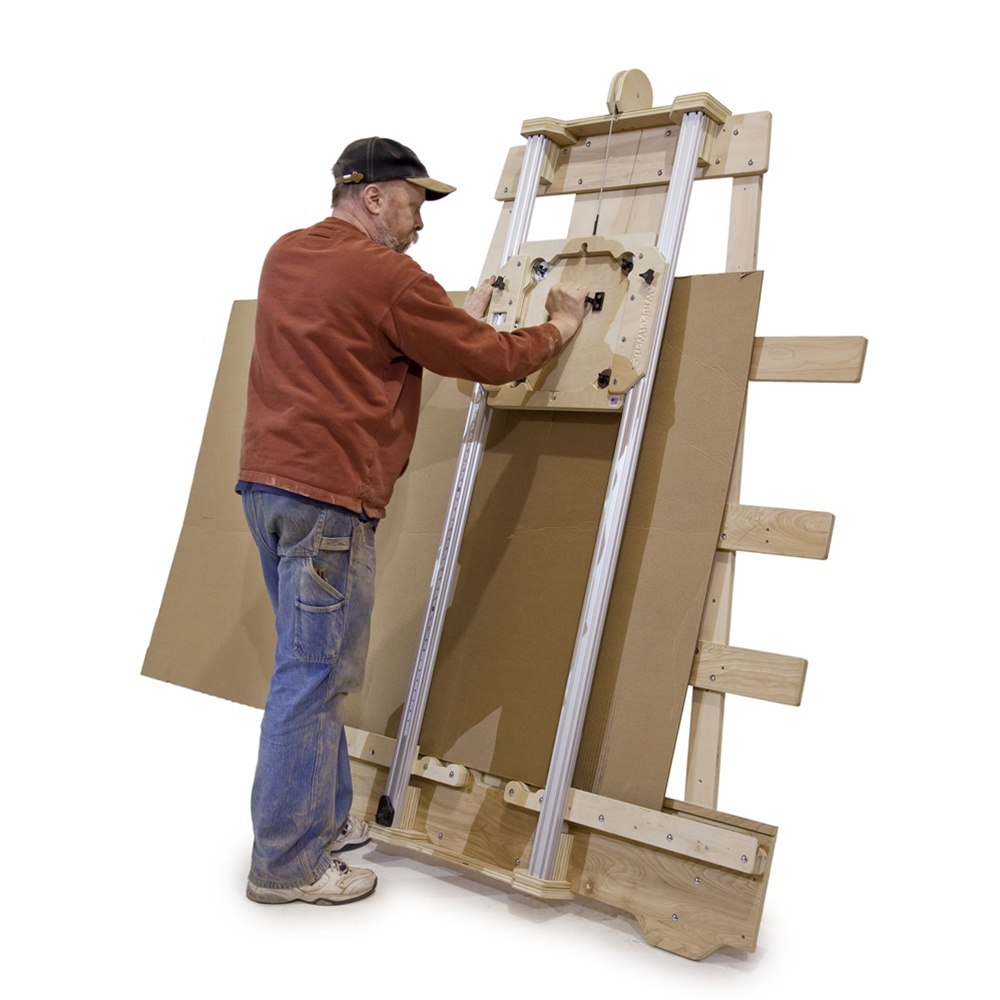 The Cross Cut Saw On A Wall Mount : Deluxe panel saw kit wall mount version build your own
