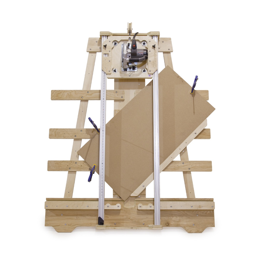 Saw Wall Mount Box : Deluxe panel saw kit wall mount version build your own
