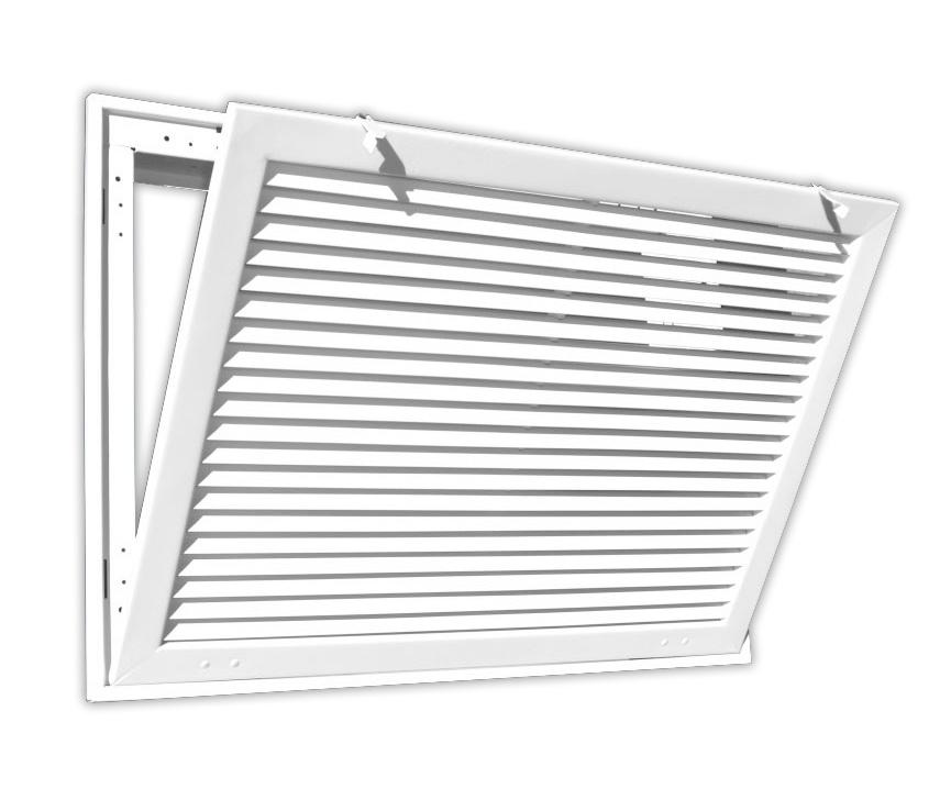 Filter Return Air Grille : Bar type return air filter grille quot