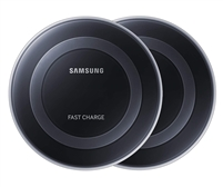 Fast Charge Wireless Charging Pad (2-Pack), Black