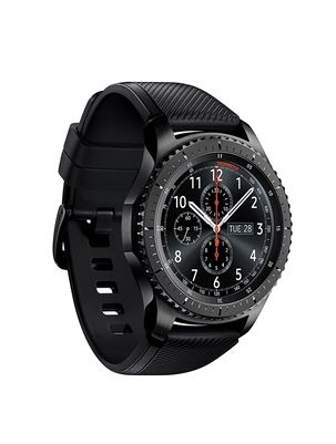 (Certified Refurbished) SAMSUNG GEAR S3 FRONTIER Smartwatch 46MM - Dark Grey
