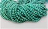 RUSSIAN GREEN AMAZONITE  SMOOTH ROUND - 6mm
