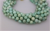 AMAZONITE ROUND SMOOTH - 10mm
