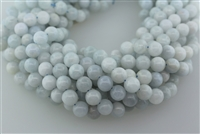 CELESTITE ROUND SMOOTH - 8mm