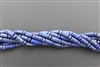 LAPIS LAZULITE TUBE AND ROUNDEL - 6*10mm+ 4*6mm