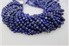 LAPIS LAZULITE FACETED ROUND - 6mm