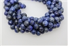 LAPIS LAZULITE FACETED ROUND - 10mm