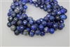 LAPIS LAZULITE FACETED ROUND - 12mm