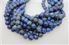 LAPIS LAZULITE SMOOTH ROUND NATURAL COLOR - 12mm