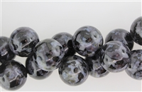 MERLINITE(INDIGO GABBRO) SMOOTH ROUND - 18mm