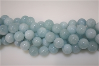 Aquamarine  Smooth Round -18mm