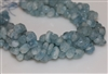 Aquamarine Freeform Faceted Nugget - 8~12mm