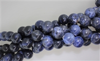 SODALITE SMOOTH ROUND - 18mm