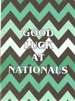 Good Luck At Nationals Card