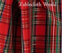 Napkins Christmas Plaid