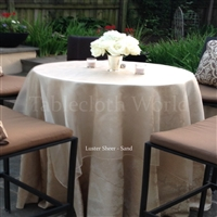 Tablecloths Luster Sheer