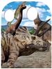 Triceratops Dinosaur Child Stand-in