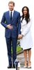 Prince Harry & Meghan Markle Royal Wedding Couple Double Celebrity Cut Out.