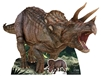 Lifesize Cut Out of NHM Triceratops Natural HIstory Museum giant lifesize cutout dinosaur