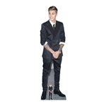 Star Cutouts Justin Bieber (Smart Suit and Smile)