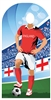 Star Cutouts England (World Cup Football Stand-IN) NEW