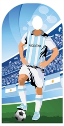 Star Cutouts Argentina (World Cup Football Stand-IN)