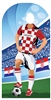 Star Cutouts Croatia (World Cup Football Stand-IN)