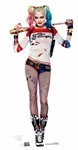 Star Cutouts Harley Quinn Lifesize Cardboard Cut Out