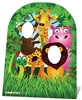 Jungle Friends Party Child Size Stand In Cardboard Cut Out