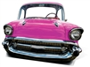 Pink Car (life Sized) 'Stand-In'