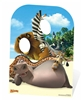 Star Cutouts Madagascar Animals Child Size Stand In