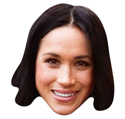 Star Cutouts Mask of Meghan MARKLE