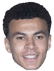 Star Cutouts Deli Alli MASK Football Sporting Event