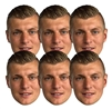 Six pack masks of Toni Kroos Football  (6 Pack) Germany