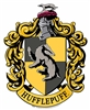 Hufflepuff Emblem Wall Cut Out HARRY POTTER WIZARDING WORLD