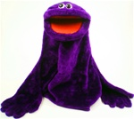 Purple Monster Puppet - Very Large.
